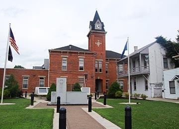 pendleton county courthouse exterior